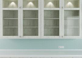 Et godt vitrineskab er populært- og brugbart